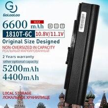 6600MAh סוללה למחשב נייד עבור Acer Aspire One 521 752 752H עבור ציר זמן 181 AS1410 1410 1410T 1810T 1810TZ UM09E31 UMO9E75 UMO9E78