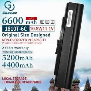 Image 1 - 6600MAh Laptop battery for Acer Aspire One 521 752 752H For Timeline 181 AS1410 1410 1410T 1810T 1810TZ UM09E31 UMO9E75 UMO9E78