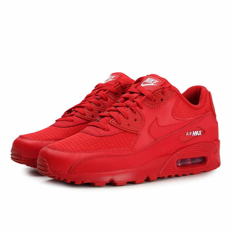 Authentic Original NIKE AIR MAX 90 ESSENTIAL Women's Running Shoes Good Quality Classic Athletic Designer Footwear AJ1285 602