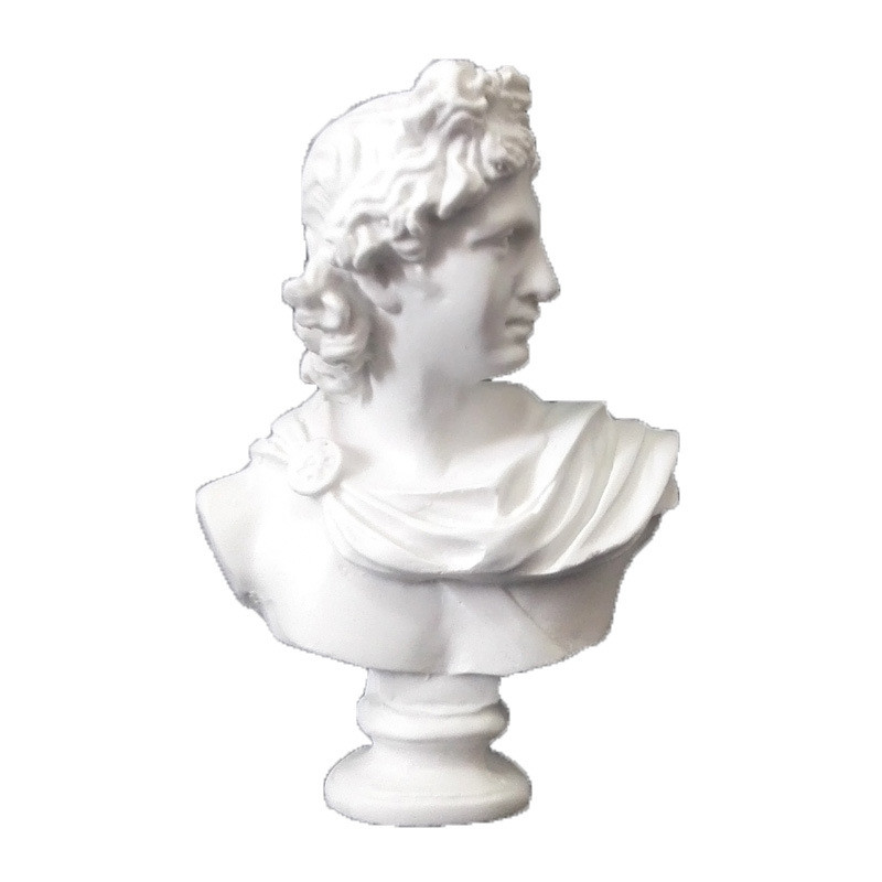 Mini Apollo Agrippa Giuliano De' Medici Venus Statue Resin Art&Craft Decorations For Home Line Drawing Teaching Aids R3226
