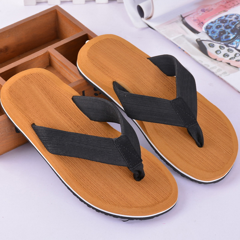 New Men Slippers & Sandals 2 In 1 Flat Leisure Soft Beach Slipper Shoes For Men Outdoors Beach Walking Breathable Beach Sandal