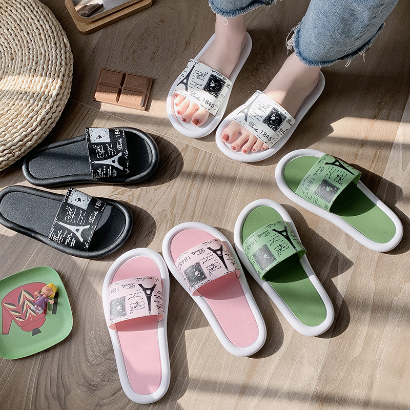 Koovan Women's Slippers 2020 New Female Summer Outer Wear Summer Seaside Sandal Fashion Girls Outdoor Sandals And Slippers
