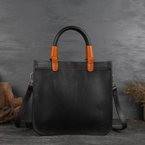 Image 3 - Johnature Designer Handbags High Quality 2020 New Retro Genuine Leather Handmade Women Tote Luxury Shoulder & Crossbody Bags