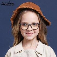 Синий светильник, детские очки для мальчиков и девочек, детская оптическая оправа, прозрачные солнцезащитные очки с антибликовым покрытием, компьютерные очки по рецепту, UV400