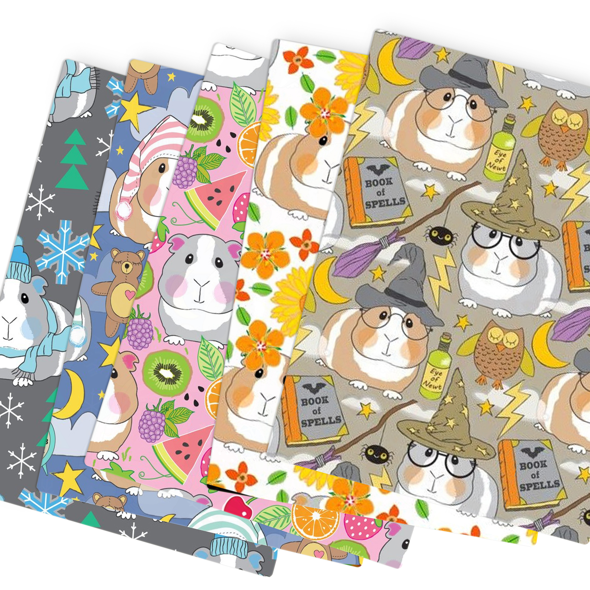 Patchwork Guinea Pig Polyester Cotton Fabric for Tissue Kids Sewing Quilting Fabrics Needlework Material DIY,c13762