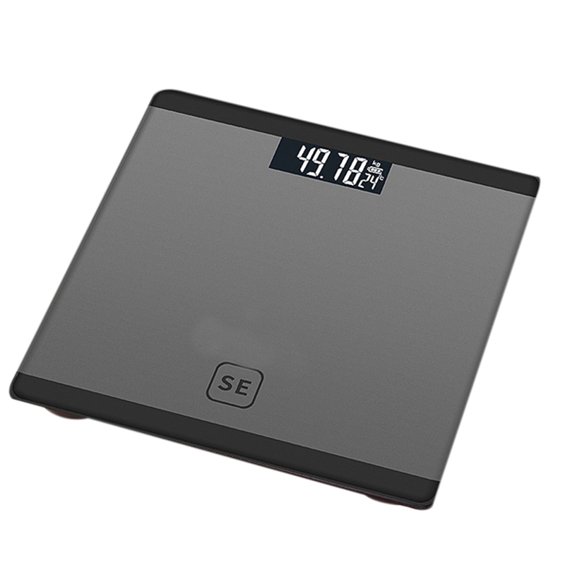 Gray Digital Body Axunge Electronic Scale LCD Display Human Health Management Called Smart Balance Electronic Scale