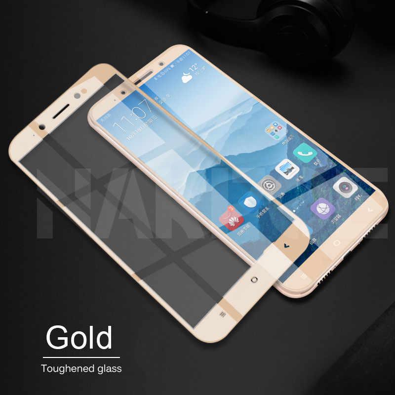 9D Kaca Tempered Di untuk Xiaomi Redmi Note 4 4X5 5A Pro Pelindung Layar untuk Redmi 5 Plus s2 4X 5A Pelindung Kaca Film Kasus
