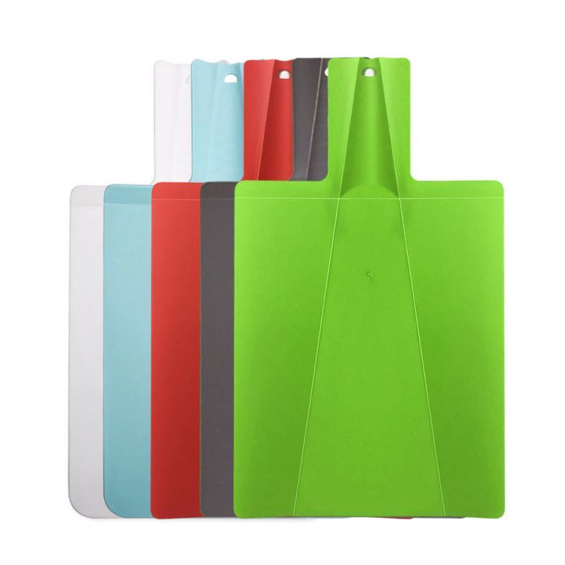 Foldable Chopping Blocks Tool Flexible Cutting Board Kitchen Food Grade Plastic Cutting Boards Classification Chopping Board 1
