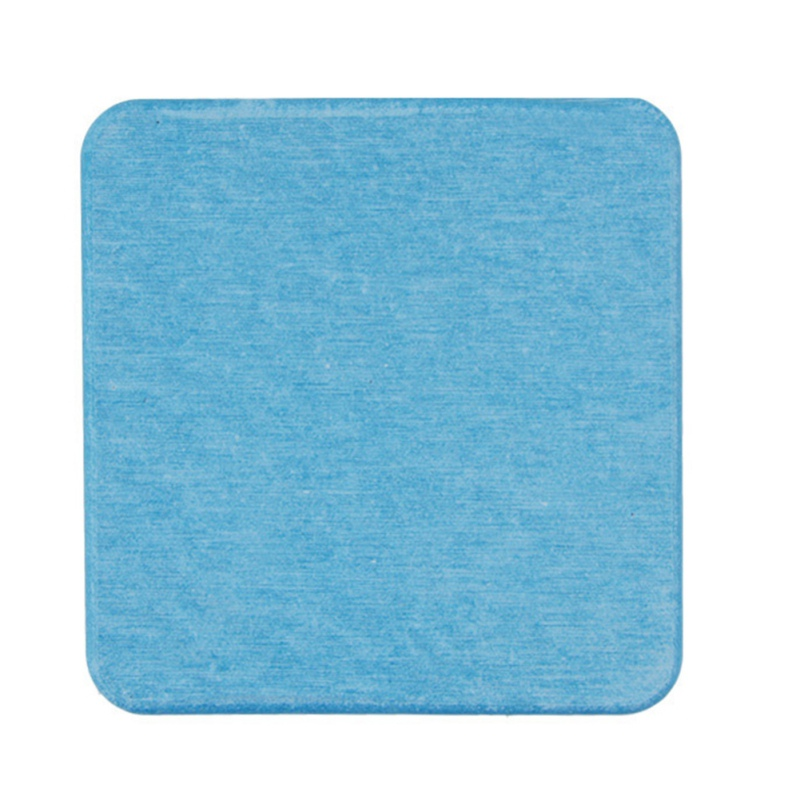 Diatom Mud Coaster Бытовая диатомовая земля умывальник посуда для напитков аксессуары для бусин квадратный круглый водонепроницаемый абсорбирующий Coaster - Цвет: C