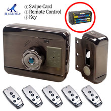 Rim-Lock Door-Gate Rfid-Card Electric-Release Metal Keyless 125KHZ for No-Wiring