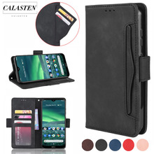 Multi-card slot Leather Case For Nokia 3.2 2.2 7.2 Business Magnetic Flip Wallet Leather Stand Phone Cover For Nokia 2.3 Coque for nokia lumia 830 leather case scrub wallet leather case for nokia lumia 830 with card holder
