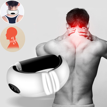 цена на Pillow science pulse massage Electric Neck Massager Hammer Infrared Massage Back Relax Multifunctional Cervical Vertebra Roller