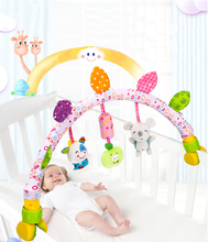 Hanging Rattle Toy Crib For Baby Toys 0 6 12 Months Mobile On The Bed Bell Newborn Educational Toys 0 Soft Cute Rattles For Kids