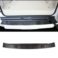 Stainless Steel Rear Bumper Guard Plate Cover for Toyota Land Cruiser Prado 150 2010 2012 2013 2014 2015 2016 2017 2018