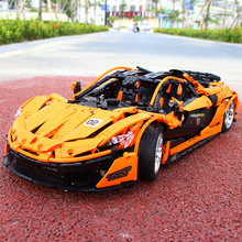 13090 LEGOeds Technic the MOC-16915 P1 Orange Super Racing Car McLarening 20087 Building Blocks Hypercar Set Children Toys Gifts dhl lepin 20087 legoingly technic toys the moc 16915 orange super racing car set building blocks bricks kids toys car model gift