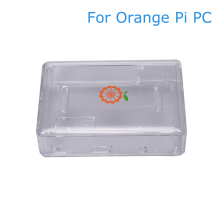 цена на Orange Pi PC Acrylic Case ABS Box Shell Transparent Protective Cover Enclosure For Orange Pi PC/PC 2/PC Plus Case In Demo Board