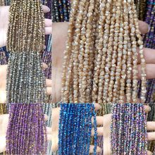 Natural Stone Plated Colorful Citrine Loose Beads 4-10mm Irregular Shape Bead Making DIY Bracelet Necklace Jewelry Accessories(China)