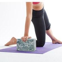 O desenho de uma peça de yoga de eva colorido para o crossfit ejercicio entrenamiento equipo de cultur