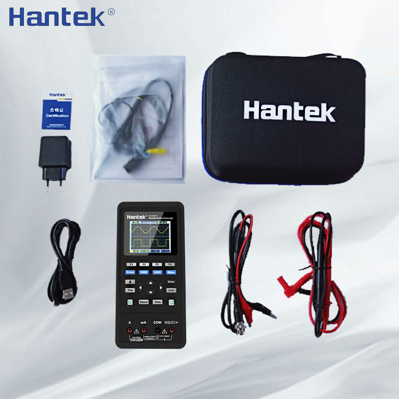 Hantek 2C42 2C72 2D42 2D72 Digitale Oszilloskop Wellenform Generator Multimeter 3in1 Tragbare USB 2 Kanal 40mhz 70mhz Test Meter - 6