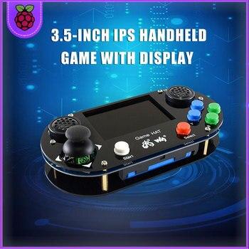Raspberry Pi 3B+/ 3B / Zero RetroPie Game HAT Console Gamepad with 60FPS 3.5 inch IPS Screen 480 x 320 Display LCD