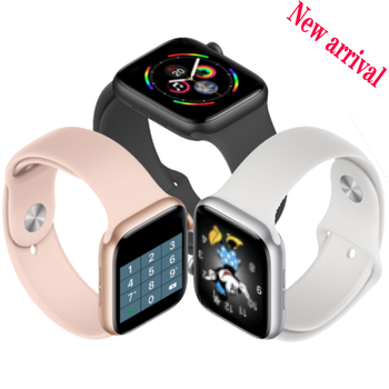2020 IWO 44mm Smart Watch For Android IOS Bluetooth Call Music Heart Rate Smartwatch Series 5 Watches For Women Men VS IWO 12 13