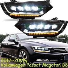 גרסה אירופאית 2017 ~ 2019 שנה רכב פגוש ראש אור עבור Passaat Magotan B8 פנס כל ב LED עבור Magotan פאסאט פנס