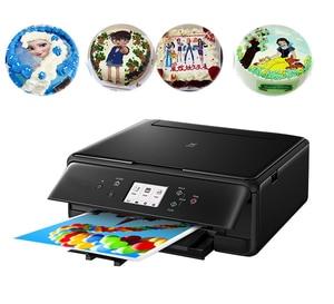 Lxhoody для принтеров Canon TS5060, принтер для торта A4, пищевой принтер для торта, шоколада, леденцов с картридж со съедобными чернилами