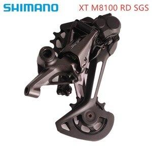 Image 5 - SHIMANO DEORE SLX XT RD  M6100 M7100 M8100 12S SGS Rear Derailleurs MTB Derailleurs 12 Speed Mountain Bike M7100 Long Cage