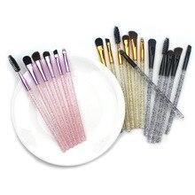 6 Pcs/set Professional Makeup Brush Eyeshadow Eyelash Eyebrow Eyeliner Lip Make Up Brush Cosmetic Beauty Tool