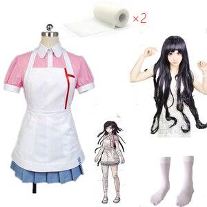 Dangan Ronpa 2 Mikan Tsumiki маскарадный костюм на заказ любого размера