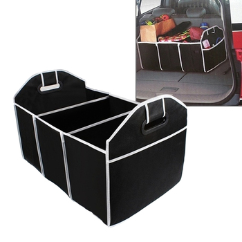 Collapsible Car Trunk Organizer Food Storage Container Auto Stowing Tidying Interior Bag image