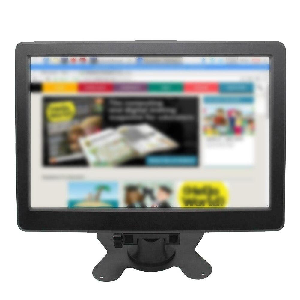 10 Polegada 2 k dp porto 2560x1600 p universal hd plug and play display lcd acessórios do computador vga hdmi tela ips para raspberry pi