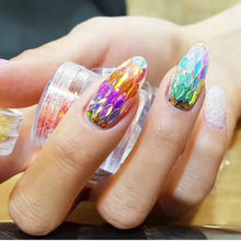1Pcs Diy Bladvorm Acryl Poeder Gel Nagellak Nail Art Decorations Crystal Manicure Set Kit Professional Nail Accesorios(China)