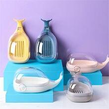 Caixa de prato de sabão portátil titular chuveiro barra recipiente caso casa acessórios de viagem bandeja de sabão prato titular bonito ferramenta do banheiro