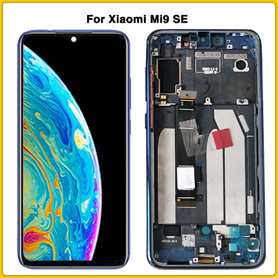 Original AMOLED For mi 9se C LCD Touch Panel For <font><b>Xiaomi</b></font> <font><b>Mi9</b></font> SE LCD <font><b>Display</b></font> Touch Screen Digitizer Assembly Replacement Parts image