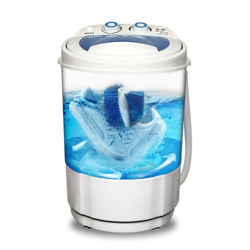 Mini Shoes Washer Blue-ray Bacteriostatic small Portable Washing Machine Shoes Washer and Dryer Mini Wash Machine for Shoes 1