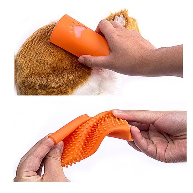 Silicone Hair Removal Brush