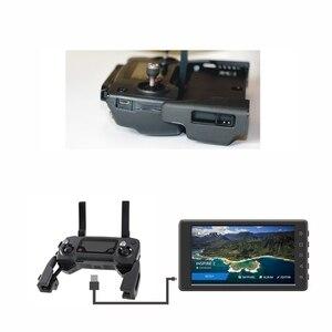 Image 5 - Suporte adaptador de montagem para dji mavic pro faísca 5.5/7.85in crystalsky mavic mini monitor controle remoto titular acessórios
