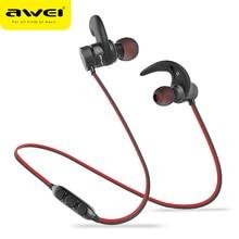 AWEI A920BLS Bluetooth наушники, беспроводные наушники, Спортивная гарнитура с магнитной системой Auriculares, беспроводные наушники Casque 10h Music
