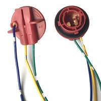 Soporte de lámpara BAY15D para enchufe de bombilla, adaptador de Luz de Freno LED, accesorios para coche, Conector de bombilla Led automática, 2 uds., 1157