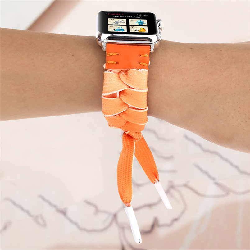 Woven mesh strap with high quality soft sports strap advanced woven strap replacement strap for apple watch 40mm 20O17 (24)