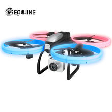 Eachine E020 LED WIFI FPV dengan 4 K/1080 P HD Kamera Sudut Lebar 4CH Ketinggian Terus Mode RC drone Quadcopter RTF(China)