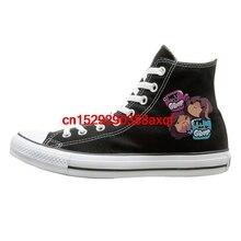 Повседневная парусиновая обувь на плоской подошве с принтом «Hey I'm Grump»; модные кроссовки; большие размеры