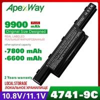 9 célula de bateria do portátil para Acer Aspire 5253G 5251 5252 5253 5333 5336 5349 5350 5551 5551G 5552 5552G 5560 5560G 5733 5733Z 5736