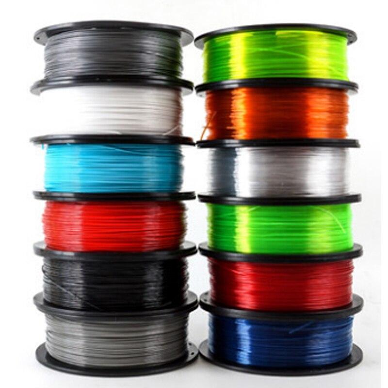 Bois/PETG/TPU = FLEX/NYLON/onglets filament plastique YOUSU pour imprimante 3d ANET ENDER/ 1kg 340m/diamètre 1.75mm/expédition de moscou