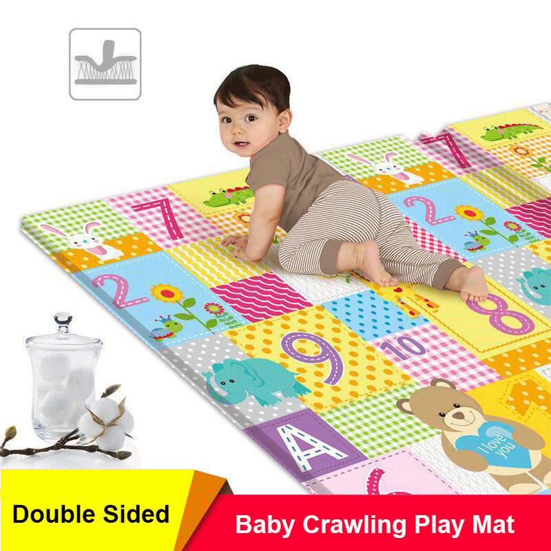 XPE Baby Play Mat Toys for Children Rug Playmat Developing Mat Baby Room Crawling Pad Environmentally Friendly Folding Mat