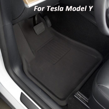 floor mat For Tesla Model Y trunk foot pad TPE XPE rubber mats waterproof non-slip accessories 2019-2021 trunk