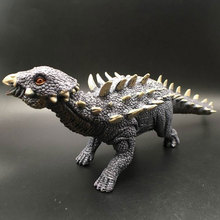 New Ankylosaurus simulation Jurassic dinosaur model nail Long large nail art dragon garage kits toy children's gift цена 2017