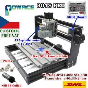 Image 1 - [EU Free Ship] USB 3018 Pro 3 Axis DIY Mini GRBL Control PCB PVC Laser Engraving ER11 Milling Machine Wood Router