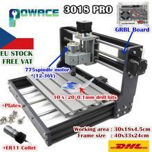 [[EU Miễn Phí Ship] USB 3018 Pro 3 Trục DIY Mini GRBL Điều Khiển PCB PVC Khắc Laser ER11 máy Xay Gỗ Router